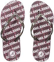 NCAA Womens Womens Glitter Thong Flip Flop