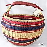 Bolga Baskets International Large Market Basket