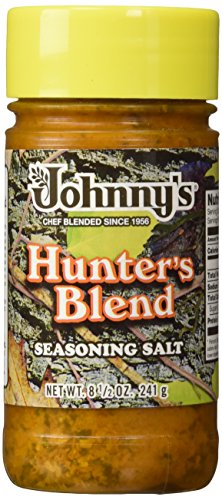 Johnnys Fine Foods Seasoning Salt Hunter, 8.5 oz (Johnnys Seasoning)