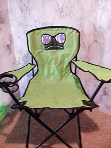 Personalized Cool Frog Folding Chair (CHILD SIZE)
