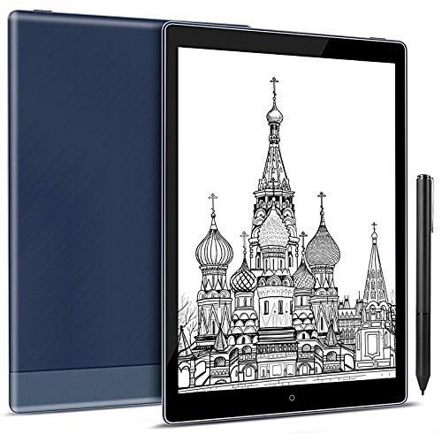 Taotuo 10.1 E-Ink Tablet ePaper Paperwhite Reader with Adjustable Front Light,Android 8.1, 64GB Digital Paper Notepad,Support WiFi Bluetooth OTG (Blue)