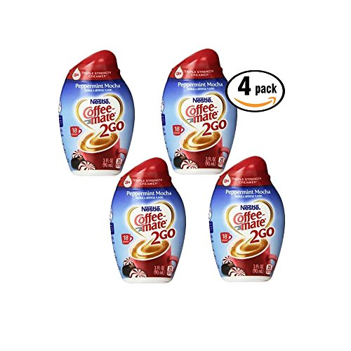 Coffeemate Creamer Concentrate Perppermint Flavor