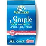 Wellness Simple Natural Grain Free Dry Limited Ingredient Dog Food, Salmon & Potato, 10.5-Pound Bag
