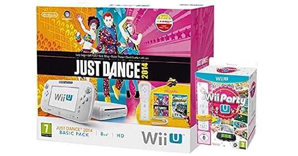 Nintendo Wii U 8Gb Just Dance, Wii Party U & Nintendoland Pack (Nintendo Wii U) [Importación Inglesa]: Amazon.es: Videojuegos