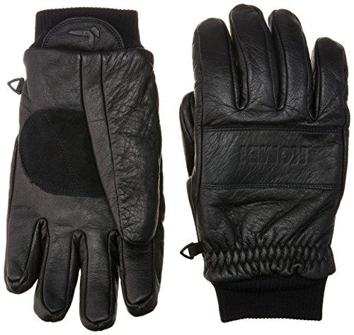 Kombi Fleece Gloves - Kombi Men's Transient Cold Weather Gloves, X-Large, Black