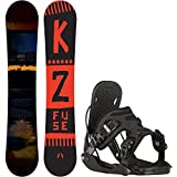 snowboard 155 package - K2 Fuse 155cm Mens Snowboard + Flow Alpha Bindings - Fits US Mens Boots Sized: 8,9,10