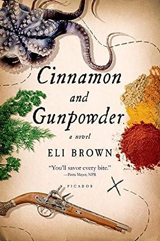 book cover of Cinnamon and Gunpowder