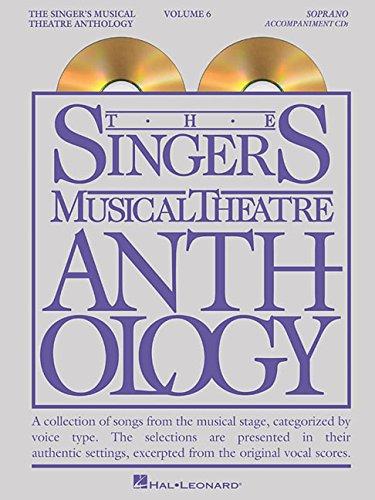 The Singer's Musical Theatre Anthology: Soprano Volume 6 - Accompaniment CDs (Smta) ()