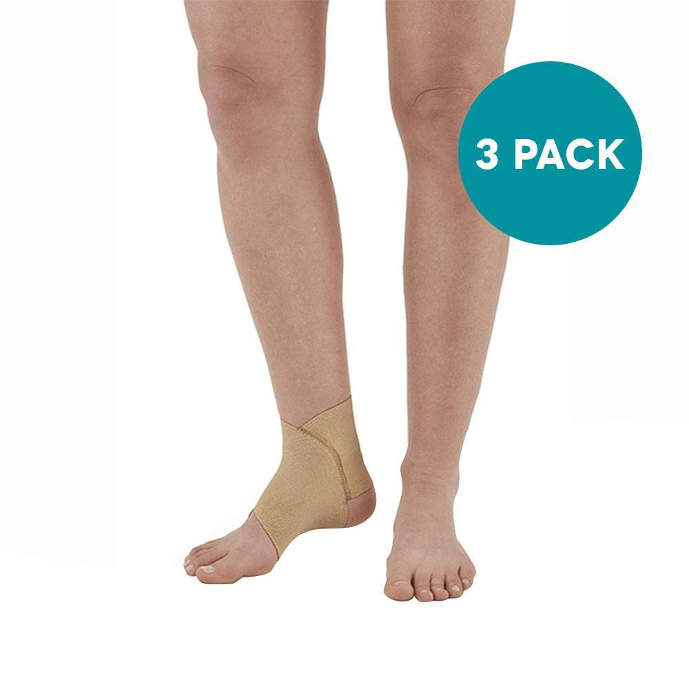 Ames Walker AW Figure 8 Ankle Support (3 Pack) XX Large Figure 8 Design That Conforms to The Anatomy of The Ankle Joint Support for weakened Ankles Improve Circulation to Promote Healing