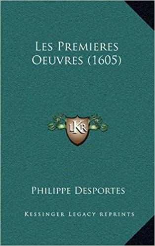 Book Les Premieres Oeuvres (1605)