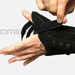 455-LT Orthosis Thumb Titan Felt Left Black Part# 455-LT by Hely & Weber Qty of 1 Unit