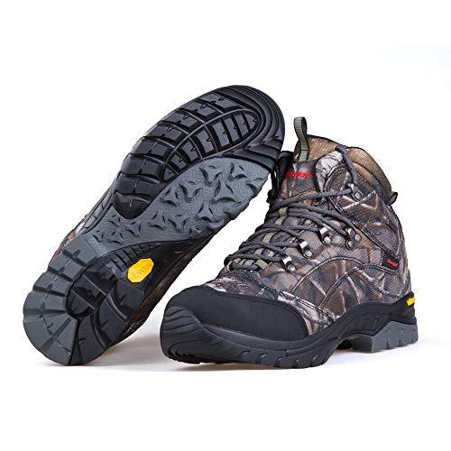 Treasu-LQ Chaussures de randonnée et de Trekking Montantes en Plein air Unisexes Chaussures de Chasse imperméables… 6