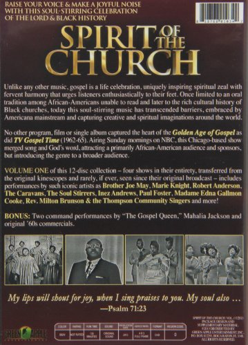 Spirit of the Church: A Celebration of Black Gospel Music, Volume 1