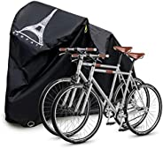 Bike Cover,Housse Velo,Heavy Tear-Proof and Double Seamed Heat Sealing Material Anti-Sun Snow and dust,Suitabl