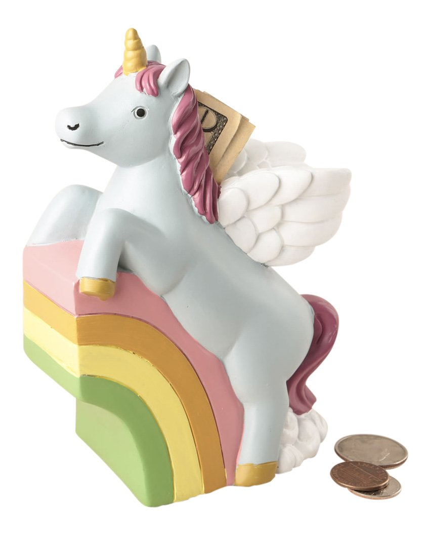Fashioncraft Unicorn Coin Bank