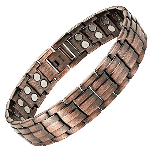 Extra Strong Titanium Magnetic Bracelet for Pain Relief Adjusting Tool & Gift Box Included Willis Judd