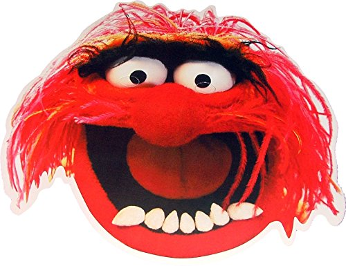 The Muppets - Animal - Card Face Mask