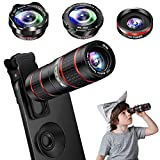 Best Smartphone Camera Lenses - Phone Camera Lens Kit, 5 in 1 Cell Review