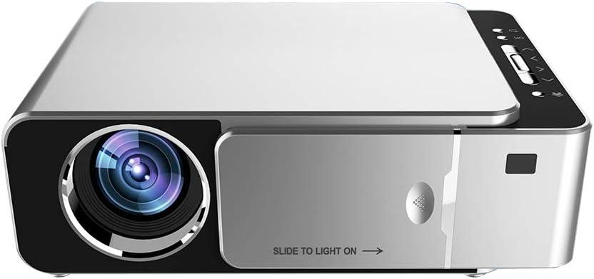 Docooler LCD T6 Proyector Smart WiFi,Soporte 1080p HD LED Mini proyector portátil de Video para el Juego de Cine en casa Película Cine: Amazon.es: Electrónica