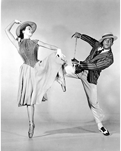 Globe Photos ArtPrints Publicity Still Of Gene Kelly And Deb