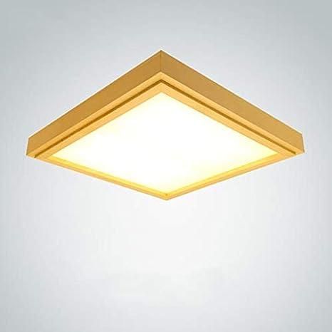 Lámpara techo japonesa Estudio Dormitorio LED de Sala de oCBexrdW