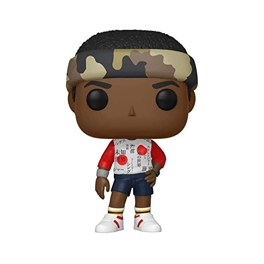 Funko- Pop Vinilo: Stranger Things: Lucas Figura Coleccionable, Multicolor, Talla única (38530)