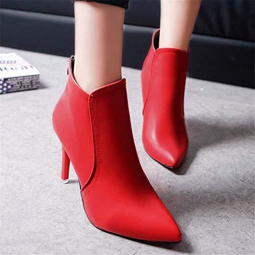Mujer Zapatos Invierno 36 Boots Martin De 's Eu Otoño E Pointed Deed Individuales Botas PwxvqES