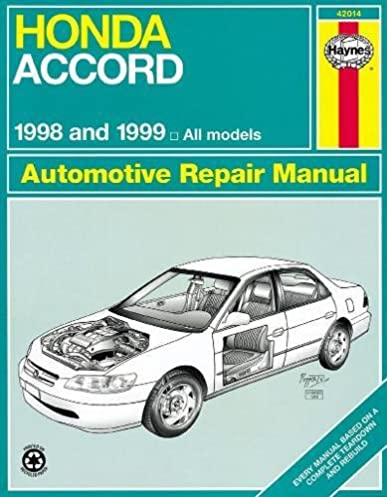 honda accord 1998 2002 haynes repair manuals haynes rh amazon com haynes manual honda accord 2000 haynes manual honda accord 2004