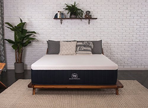 Brooklyn Bedding Aurora 13-inch Cooling Gel Hybrid Mattress, Queen- ()