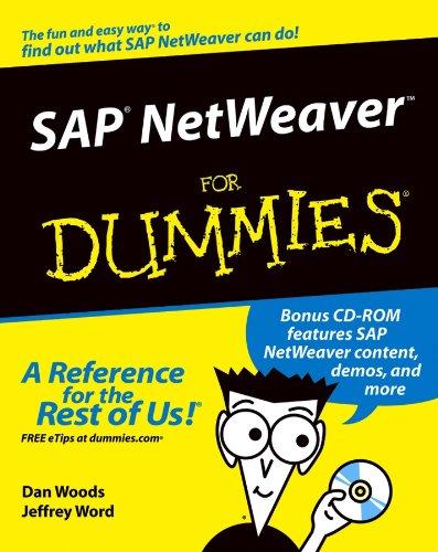 Download SAP NetWeaver For Dummies Pdf