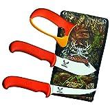 Outdoor Edge BN-2C Blaze & Bone Butcher Knife Set