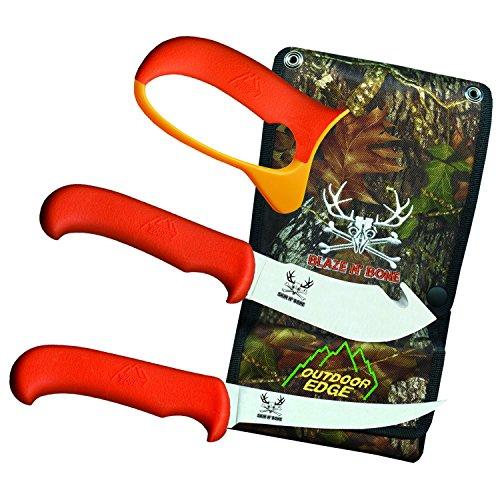 Outdoor Edge BN-2C Blaze & Bone Butcher Knife Set by Outdoor Edge