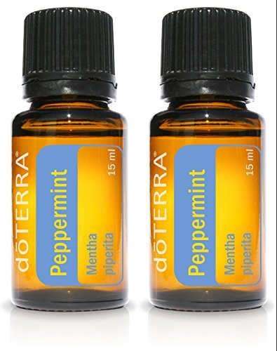 (doTERRA Peppermint Essential Oil 15 ml by doTERRA, 2 Pack)