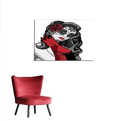 Amazoncom Kungfu Decoration Photographic Wallpaper Skull