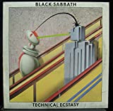 BLACK SABBATH TECHNICAL ECSTASY vinyl record