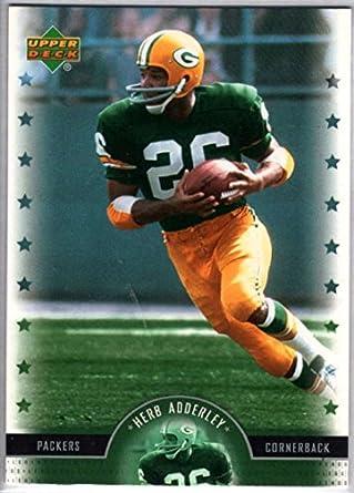 Amazon.com  Football NFL 2005 Upper Deck Legends  17 Herb Adderley ... b1dc49ec7
