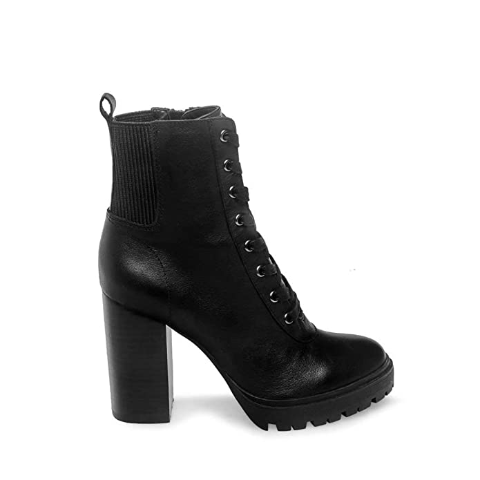 Steve Madden Latch Heeled Bootie (Womens)