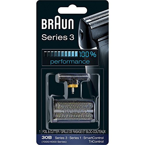 Braun Series 3 30B Foil & Cutter Replacement Head,  Compatible with 7000/4000 range of shavers; and Previous Generation Series 3 (340s) Review