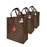 NEW YORK Reusable Eco Big Size Grocery Shopping Bag (25, 50, 100 Pack) (50)