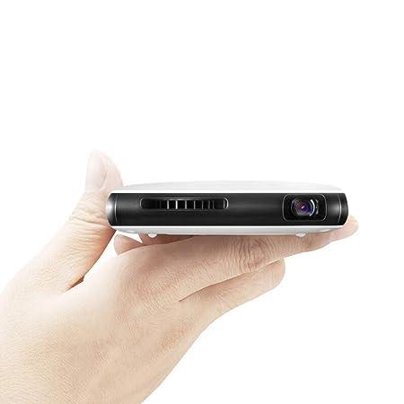 NCBH Proyector portátil Batería Recargable, Mini proyector Office ...