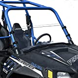 Polaris RZR 570 / 800 - 900 (2014 & Older) Half FixedScratch Resistant UTV Windshield.The Ultimate in Side By Side Versatility!Premium poly w/ Hard Coatmade in America!!