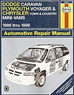 Dodge Caravan/Plymouth Voyager/Chrysler Town & Country 96-02 (Haynes on chrysler town and country diagram, chrysler town and country cooling system, chrysler radio wiring diagram, chrysler town and country forum, chrysler town and country engine, chrysler town and country lights, chrysler town and country interior, chrysler town and country parts,
