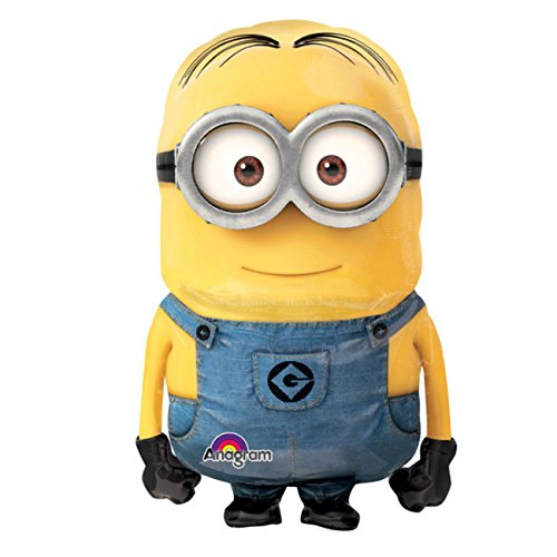 Anagram International Minion Air Walker, Multi-Color, 28x43