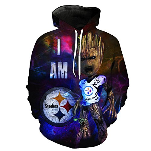 nayingying hoodies Men/Women's Steelers Seahawks Packers 3D Print Sweatshirts Harajuku Pullover Long Sleeve Hoody 3503 6XL