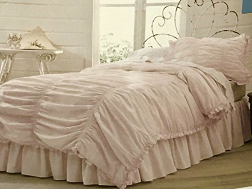 Simply Shabby Chic® Ruched Comforter Set Pink
