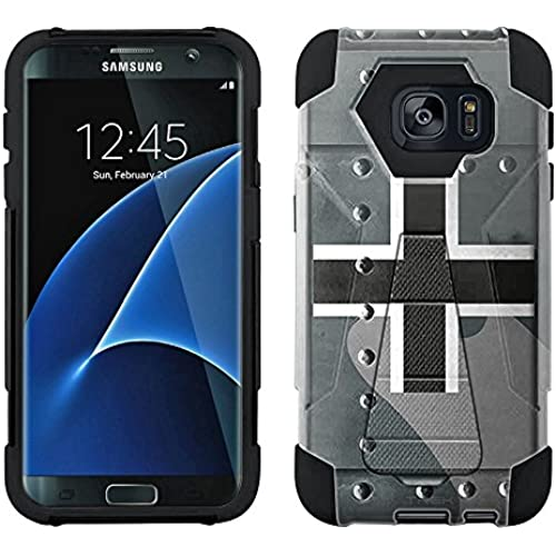 Samsung Galaxy S7 Edge Hybrid Case German Air Force War Plane Fuselage 2 Piece Style Silicone Case Cover with Stand for Samsung Galaxy S7 Edge Sales