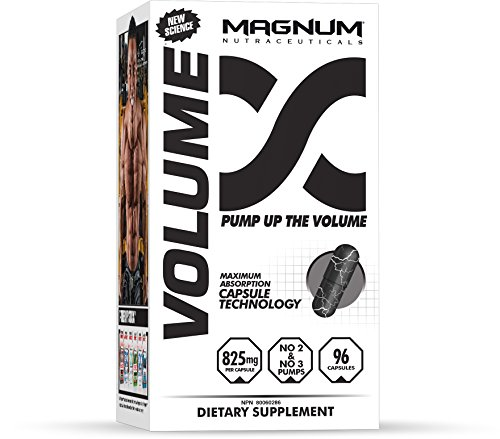 Magnum Nutraceuticals Volume 96 Capsules - Pharmaceutical Grade Nitric Oxide Enhancing Product