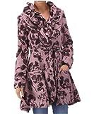 Joe Browns Women's Perfect Printed Coat, Plum , (4)