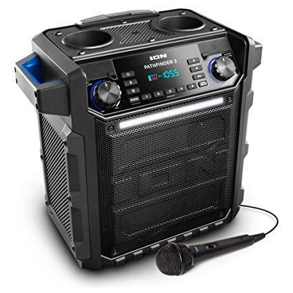 Ion Pathfinder II Rugged Bluetooth Portable Speaker (Portable Ion Speaker)