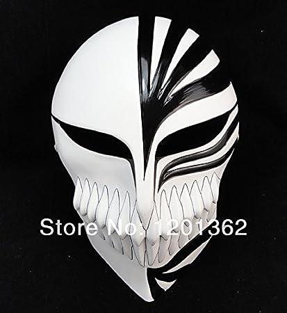 2015 – DELUXE usar lejía Ichigo Kurosaki completo cara resina máscara fiesta Halloween